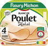 Blanc de poulet Halal - 4tr. - Produit