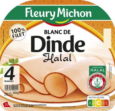 Blanc de dinde Halal - 4tr. - Produit