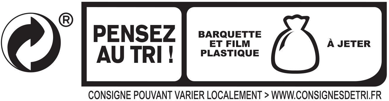Blanc de Dinde - Halal - Instruction de recyclage et/ou informations d'emballage - fr