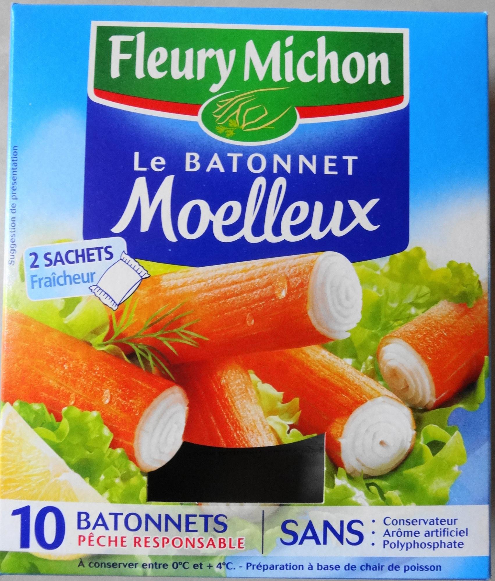 Le bâtonnet Moelleux - 10 bâtonnets - Product - fr