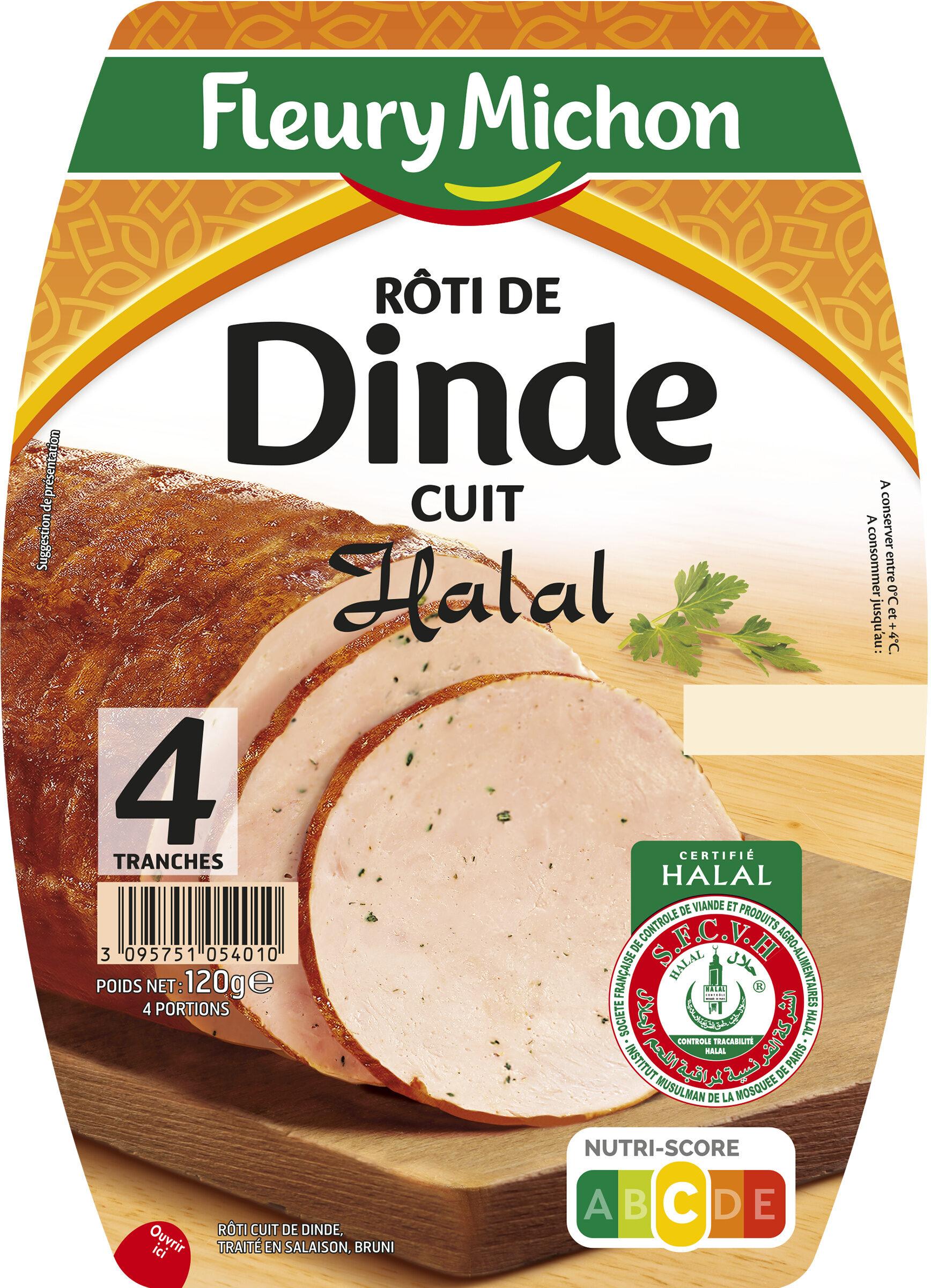 Rôti de dinde cuit Halal - 4tr - Produit - fr