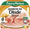 Jambon de dinde Halal - 4tr. - Produit