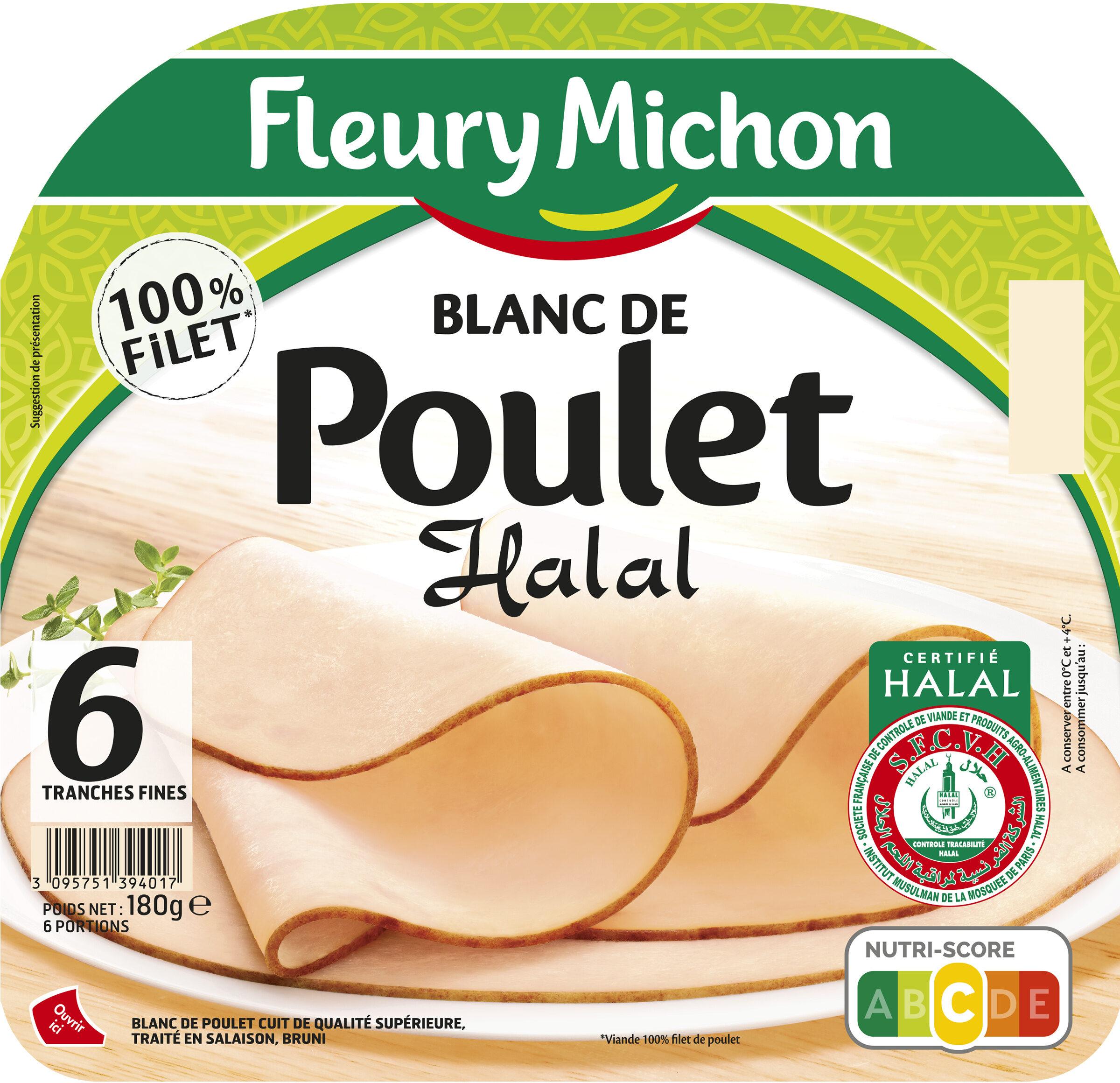 Blanc de poulet Halal - 6tr. - Produkt