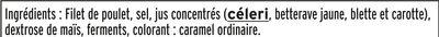 Blanc de poulet Halal - 6tr. - Inhaltsstoffe