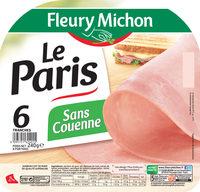 Le jambon de Paris sans couenne - 6 tr. - Product
