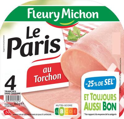 Le Paris au torchon - 25% de Sel* -  4 tr. - Produit