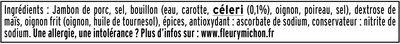 Le Paris au torchon - 25% de Sel* -  4 tr. - Ingrédients - fr