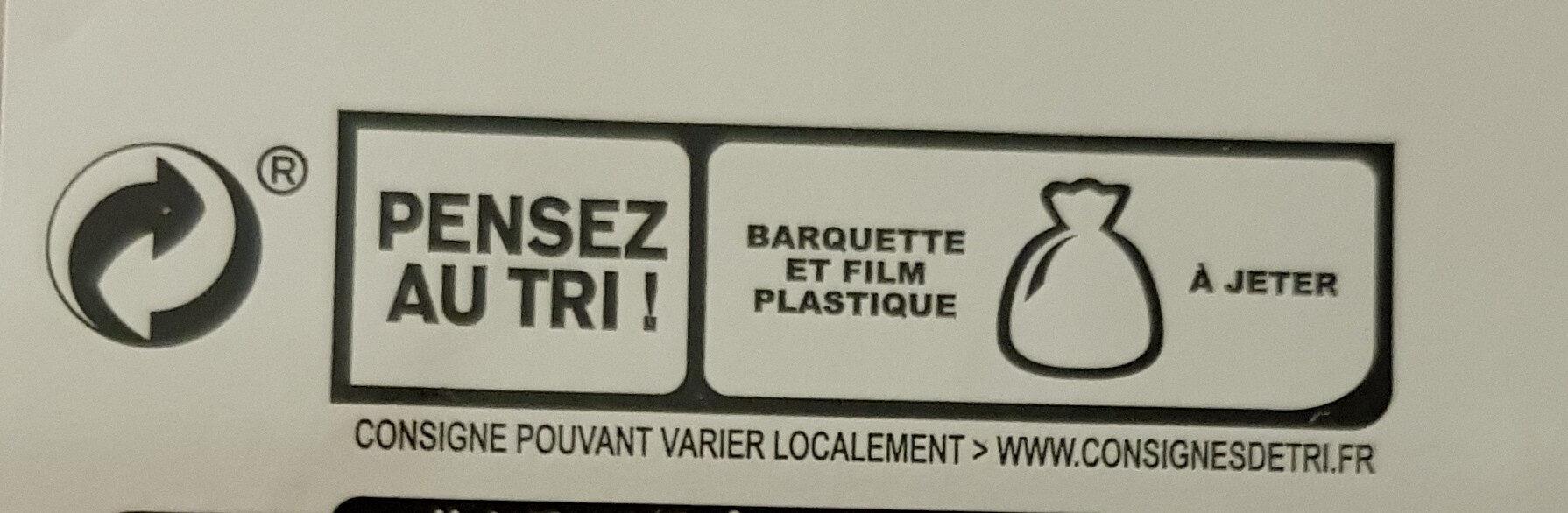 Le Paris au torchon - 25% de Sel* -  4 tr. - Instruction de recyclage et/ou information d'emballage - fr