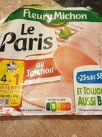 Le Jambon de Paris au Torchon (-25% de Sel) - Produit