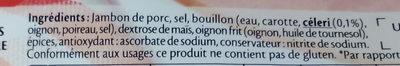 Le Jambon de Paris au Torchon (-25% de Sel) - Ingrédients
