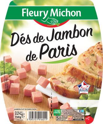 Dés de jambon de Paris - 2x75g. - Product