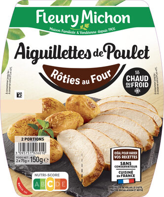 Aiguillettes de Poulet - Rôties au Four - Produit - fr
