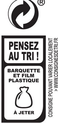 Aiguillettes de Poulet - Rôties au Four - Instruction de recyclage et/ou informations d'emballage - fr