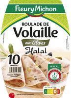 Roulade de Volaille - aux Olives - Halal - Produit - fr