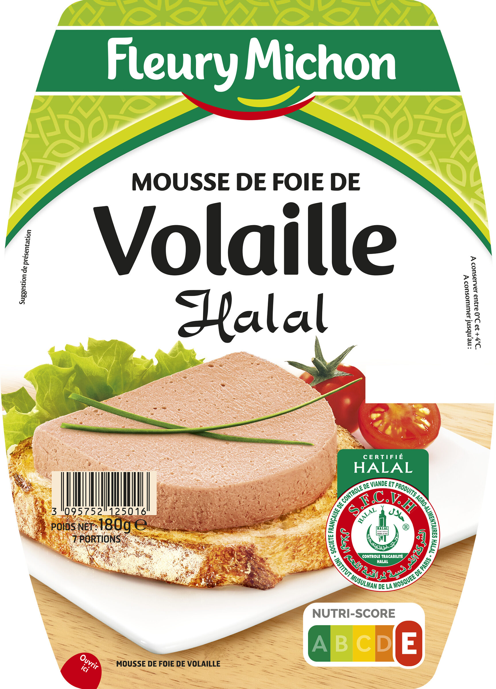 Mousse de foie de volaille halal - 180 g. - Produit - fr
