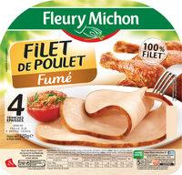 Filet de poulet fumé - 4 tranches épaisses - Product