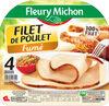 Filet de poulet fumé - 4 tranches épaisses - Produit