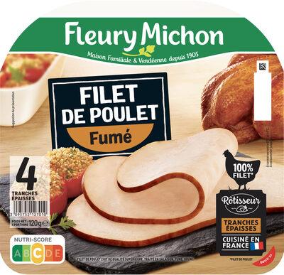 Filet de poulet fumé - 4 tranches épaisses - Prodotto - fr