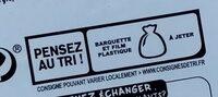 Mousse de foie de volaille - Istruzioni per il riciclaggio e/o informazioni sull'imballaggio - fr