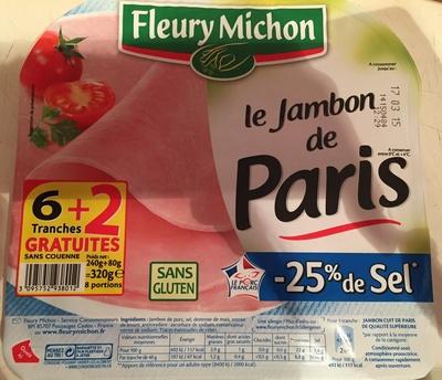 Le Jambon de Paris -25% de Sel - Product
