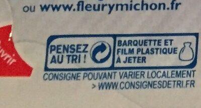 Le Jambon de Paris -25% de Sel - Recyclinginstructies en / of verpakkingsinformatie - fr