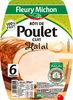 Rôti de poulet cuit halal  - 6 tr - Product