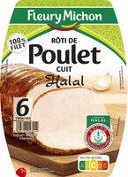 Rôti de poulet cuit halal  - 6 tr - Product - fr