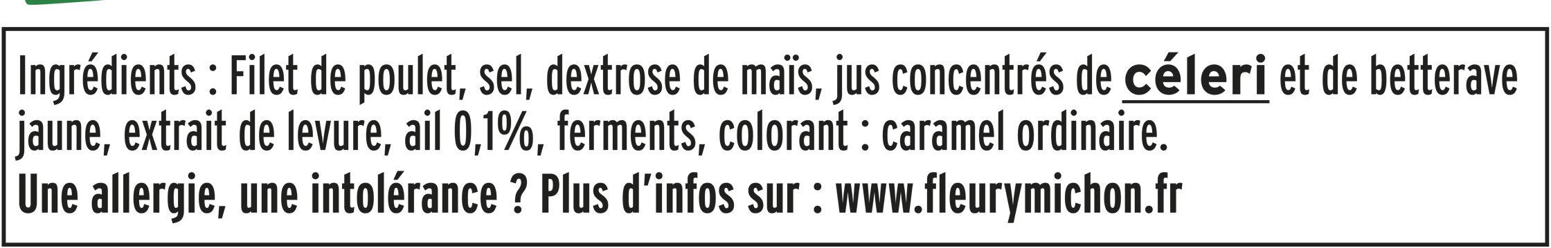Rôti de Poulet cuit - Halal - Ingrediënten - fr