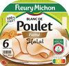 Blanc de poulet fumé Halal - 6 tr. - Produit
