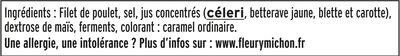 Blanc de Poulet - Fumé - Halal - Ingrédients - fr