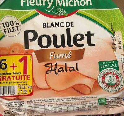 Blanc de poulet fumé halal - Prodotto - fr