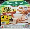 Filet de poulet braisé (4+2 gratuites) - Produit