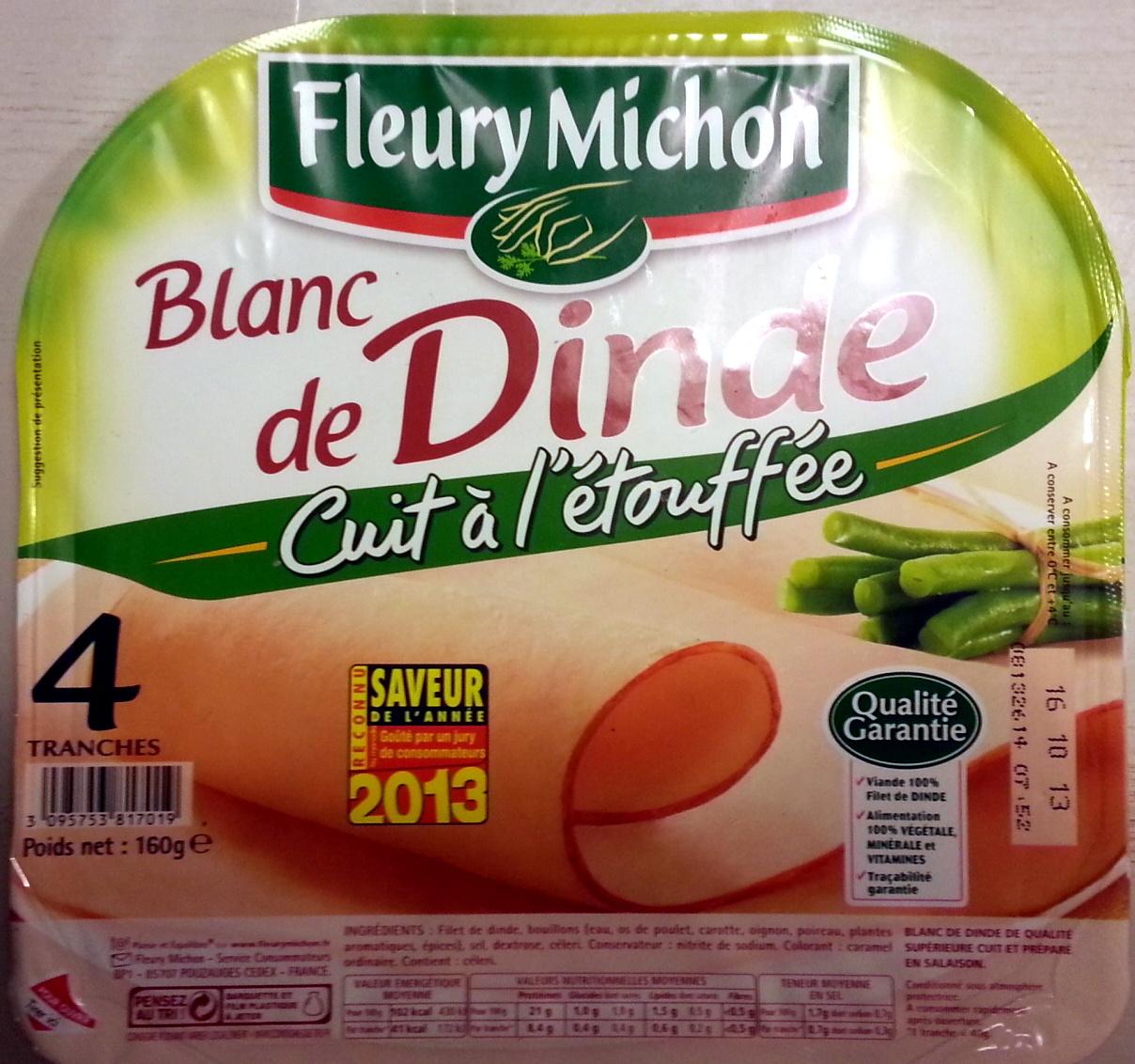 Blanc de dinde cuit l 39 touff e fleury michon 4 - Cuisiner blanc de dinde ...