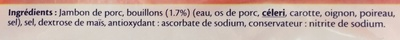 Le cuisiné à l'os recette Joël Robuchon - 2tr. - Ingrediënten - fr