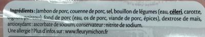 Le Fumé au Bois de Chêne (4+1 gratuite) - Ingrédients - fr