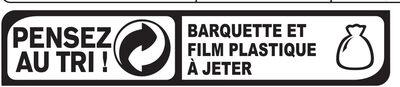 Rôti de Poulet - 100% filet* - Recyclinginstructies en / of verpakkingsinformatie - fr