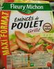 Émincés de poulet grillé (maxi format) - Product