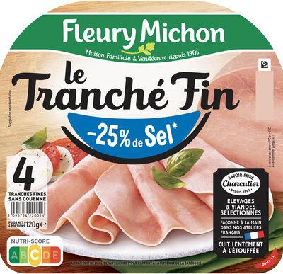 Le Tranché Fin - Dégustation - 25% de sel* - Produit - fr