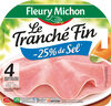 Le tranché fin DEGUSTATION - -25% SEL - 4 tranches - Product