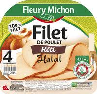Filet de poulet rôti Halal - 4tr. - Product