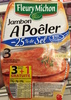Jambon à poêler (-25% de sel) - Product