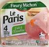 Le Paris cuit à l'étouffée - Produit
