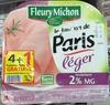 Le Jambon de Paris léger (2% M.G) - Produit