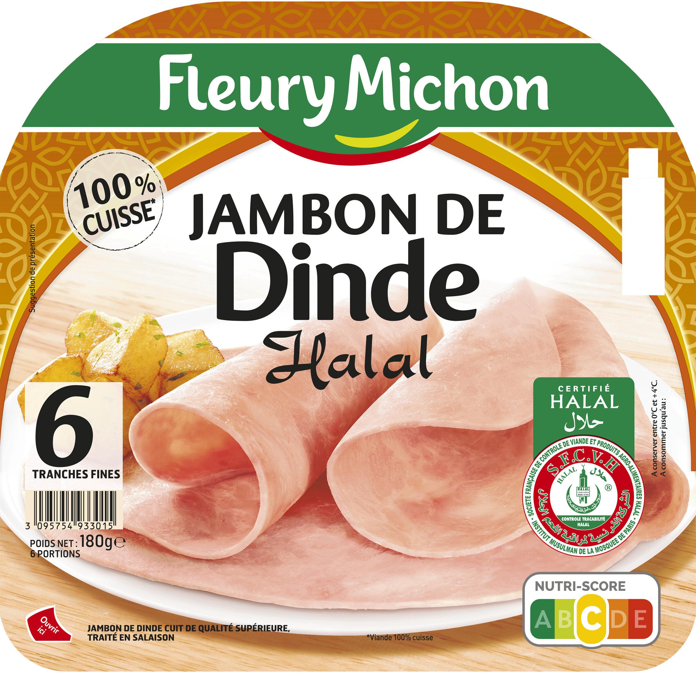 Jambon de Dinde - Halal - Product - fr