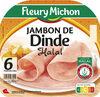 Jambon de dinde Halal - 6 tr. - Produit