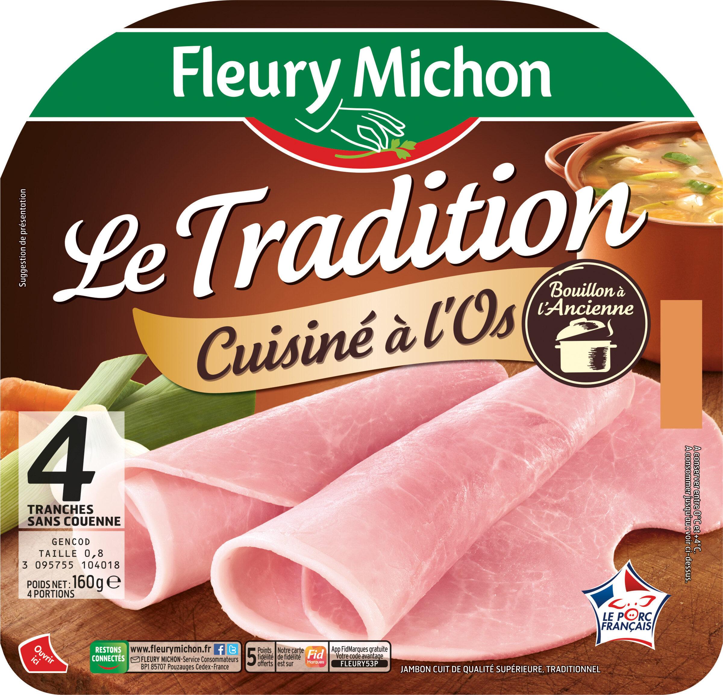 Le tradition cuisiné à l'os - 4 tr. - Product