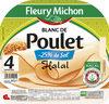 Blanc de Poulet - 25% de sel* - *par rapport à la moyenne de la catégorie Halal - 4 tr. - Product