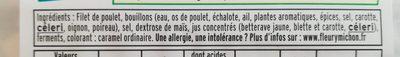 Filet de poulet (-25% de sel) (4+2 gratuites) - Ingrédients - fr