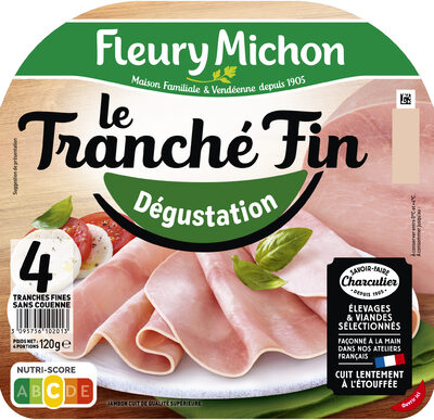 Le tranché fin Dégustation - 4tr. - Prodotto - fr