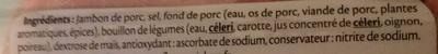 Le tranché fin Dégustation - 4tr. - Ingredienti - fr